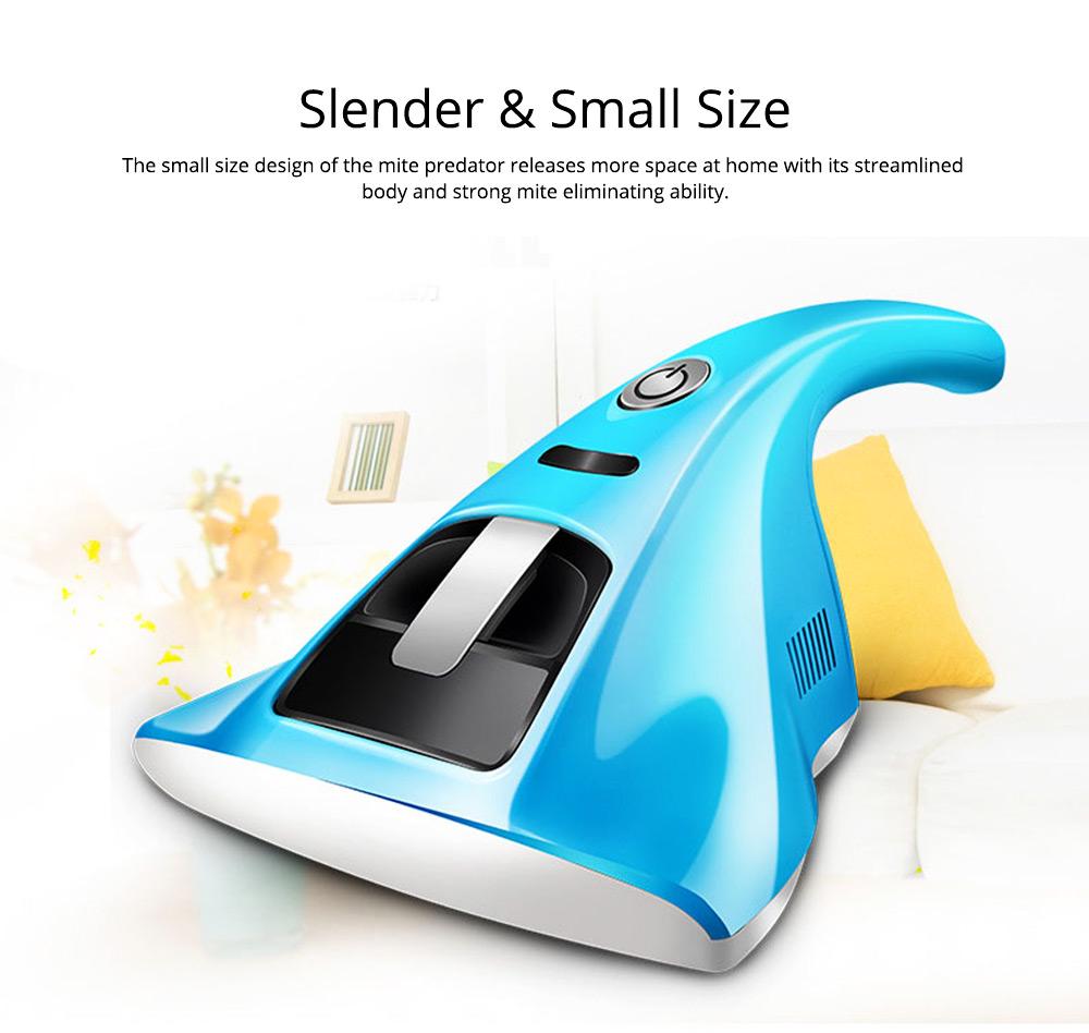 Bedding Use Acarus Killing Hand-held Silent Dust Mite Controller, Ultraviolet Sterilization Mite Predator Dust Catcher 4