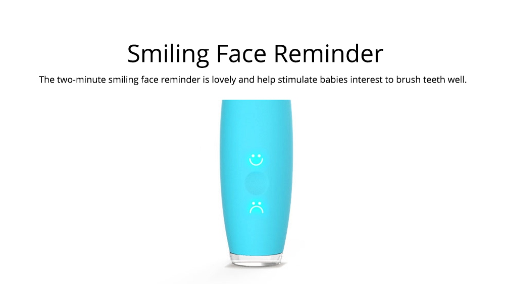 Baby USB Chargeable Silicone Toothbrush for Children Infant, Intelligent Waterproof Ultrasonic Mouth Cavity Cleaning Toothbrush, Electric Brush for Teeth Cleaning 10