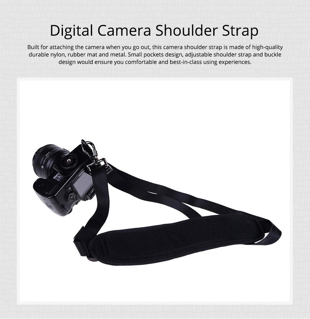 Minimalist Digital SLR Camera One Shoulder Strap, Professional Fix Single-lens Reflex Camera Shoulder Belt 0