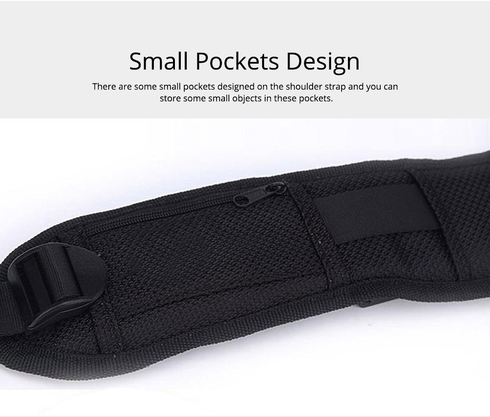 Professional Digital Camera Double Shoulder Straps, Comfortable Dual Shoulder Belt for SLR DSLR Camera Extreme Sports 3