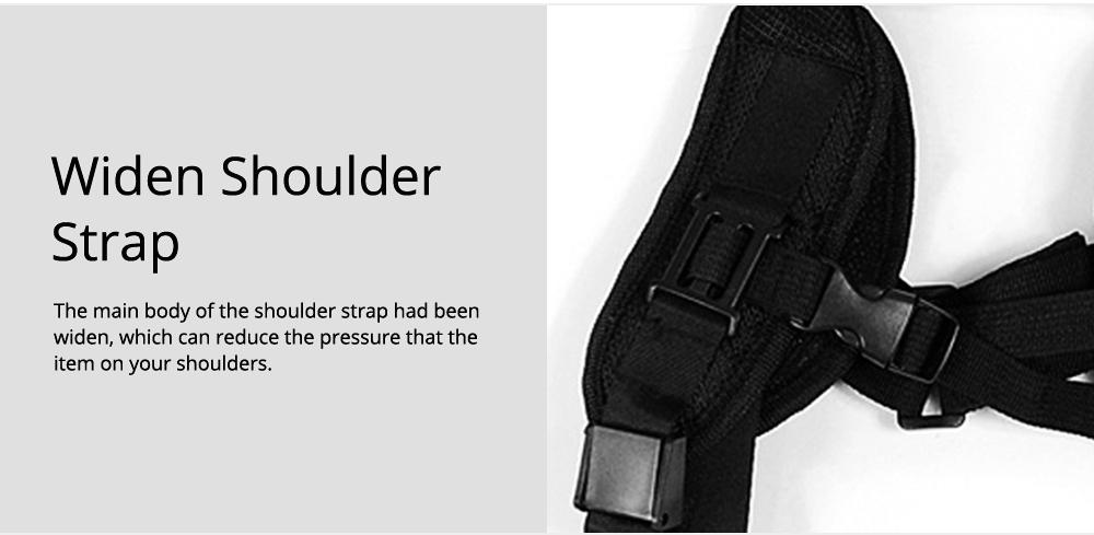 Professional Digital Camera Double Shoulder Straps, Comfortable Dual Shoulder Belt for SLR DSLR Camera Extreme Sports 5