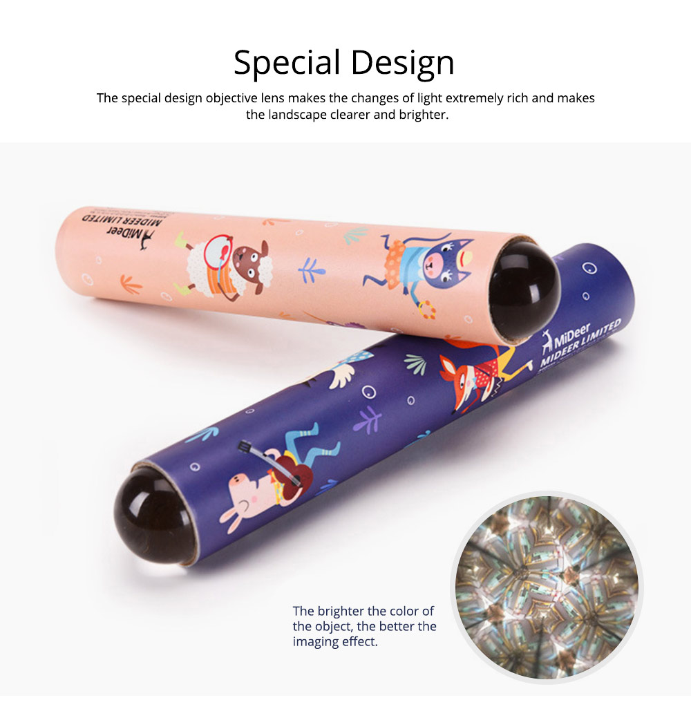 Colorful Kaleidoscope for Children, Science Experiment Toy, Classic Nostalgic Parent-child Interaction Educational Toys 2