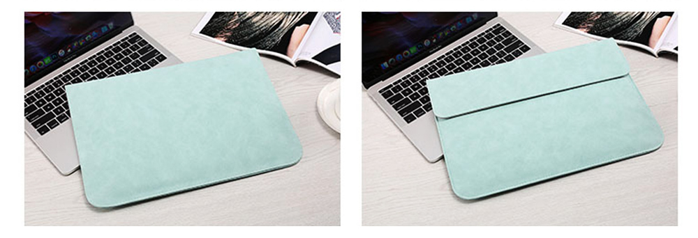 Thin Dull Polished Laptop Bag for Apple, Dell, Lenovo, MacBook Liner Package, Portable MacBook Dedicated Storage Bag with Clutch 11