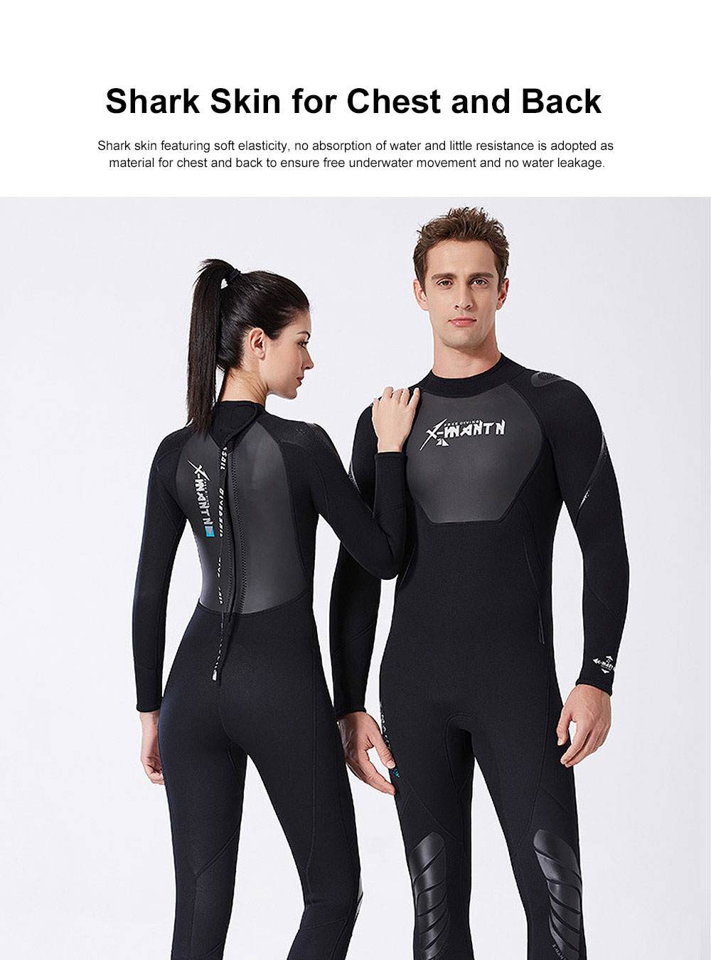 UV Protection Unisex Diving Dress, One-piece Warm-kept Diving Suit, Long Sleeve Swimwear for Snorkeling, Diving Winter Swimsuit 2019 3