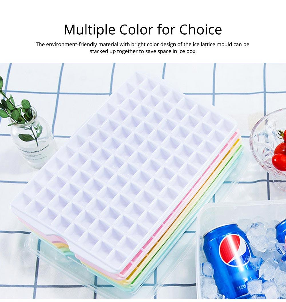 96 Grid Ice Lattice Mould with Cover, Sealed Crisper DIY Ice, Multiple Sub-box Ice Lattice Mold Ice-making Box 8