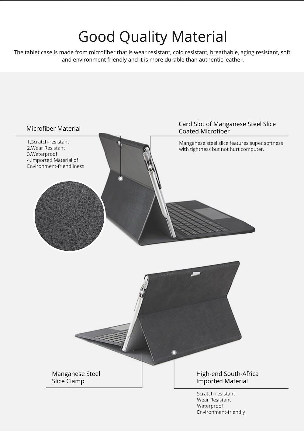Laptop Case Pack for Microsoft Surface Pro 4, Surface Pro 3, Surface Pro 5, Surface Pro 6 Full Protective Pouch Case, Tablet PC Laptop Case 1