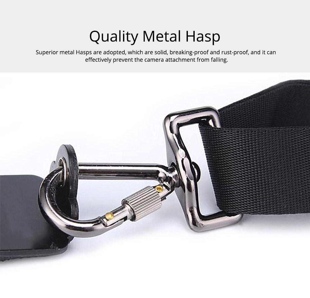 Professional Digital Camera Double Shoulder Straps, Comfortable Dual Shoulder Belt for SLR DSLR Camera Extreme Sports 4