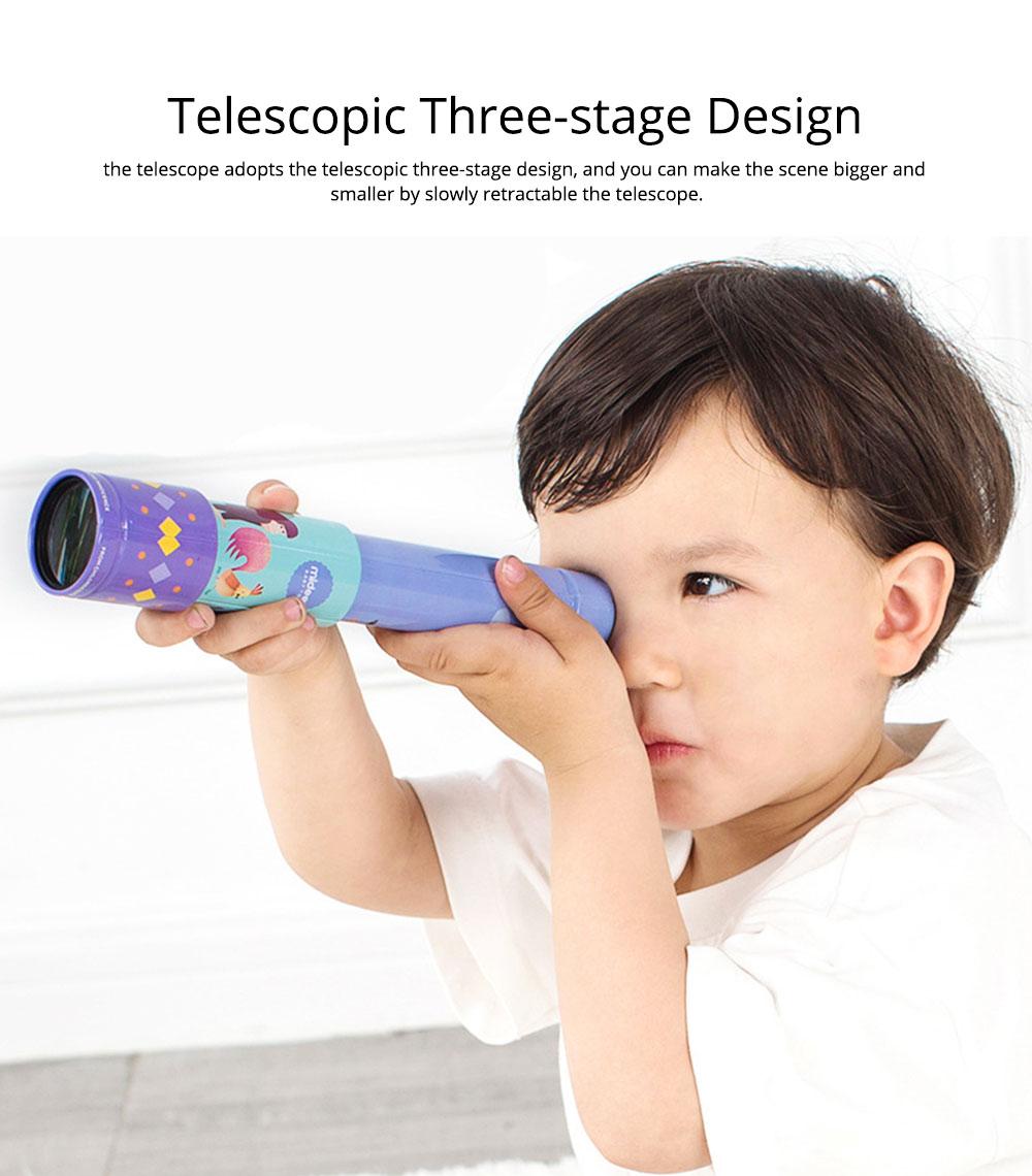 Explore Nature Children's Monocular Telescope, Iron Retractable Eyecare Toy, Adjustable Educational Science Toy 5