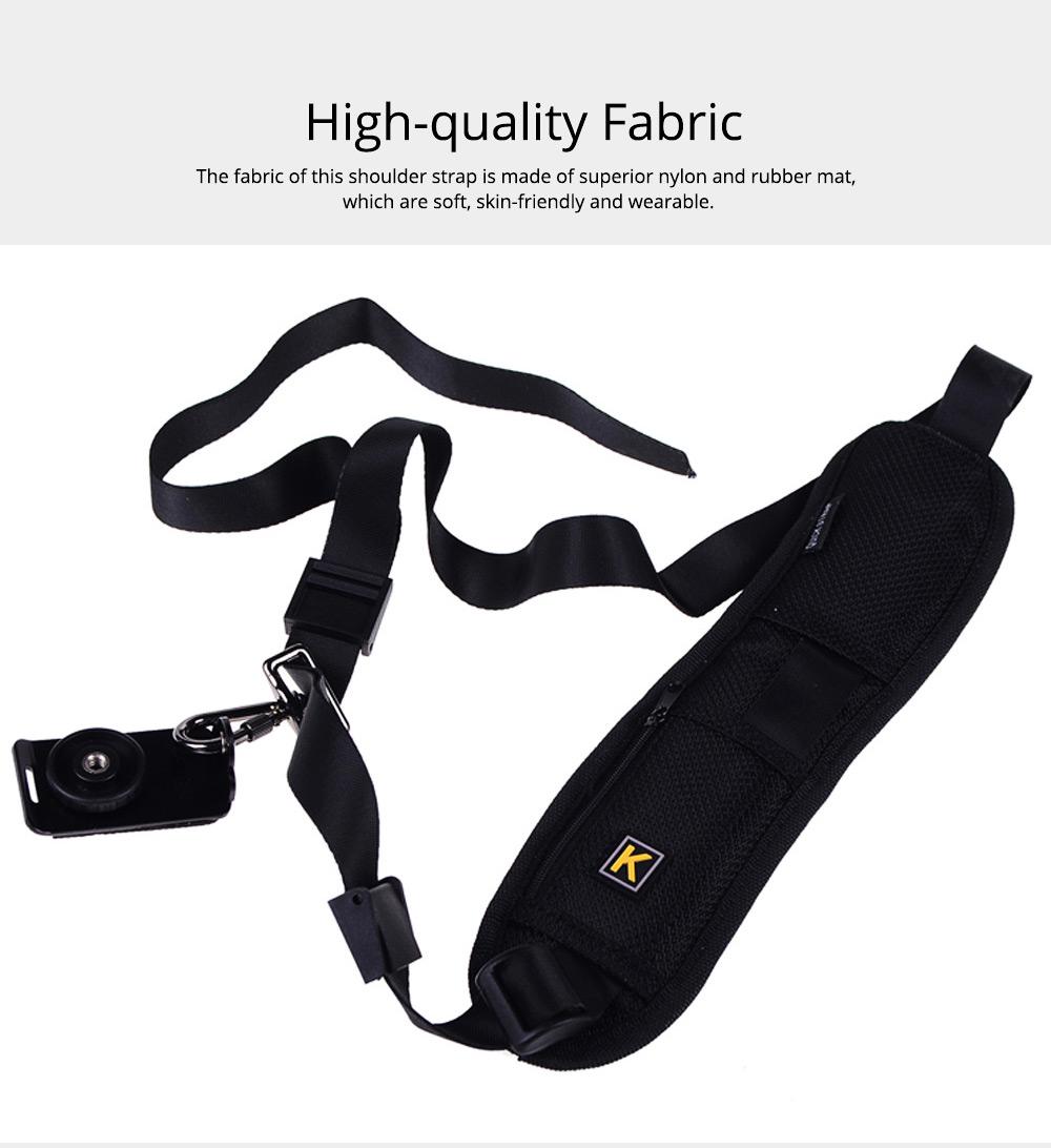 Minimalist Digital SLR Camera One Shoulder Strap, Professional Fix Single-lens Reflex Camera Shoulder Belt 1