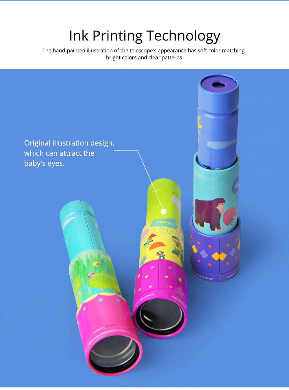 Explore Nature Children's Monocular Telescope, Iron Retractable Eyecare Toy, Adjustable Educational Science Toy 3