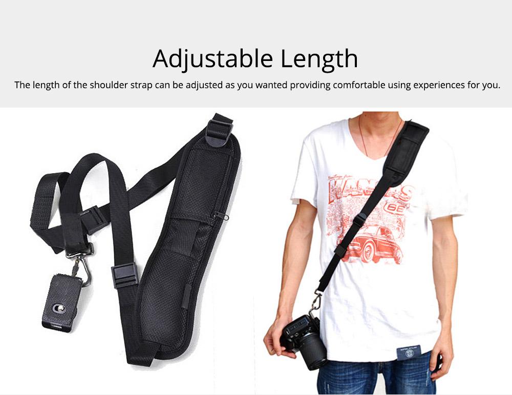 Minimalist Digital SLR Camera One Shoulder Strap, Professional Fix Single-lens Reflex Camera Shoulder Belt 2