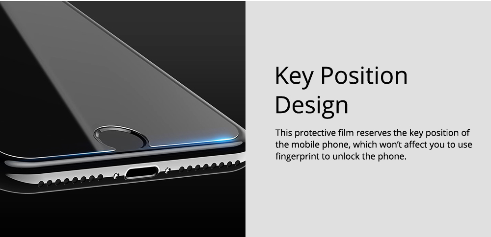 Tough Transparent Tempered Glass iPhone Screen Protector, Breaking-proof Scratching-proof Protective Film for iPhone 5 5S SE 6S Plus 7 8 X 6