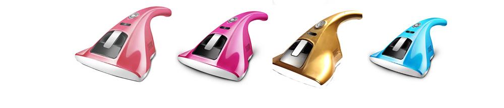 Bedding Use Acarus Killing Hand-held Silent Dust Mite Controller, Ultraviolet Sterilization Mite Predator Dust Catcher 10