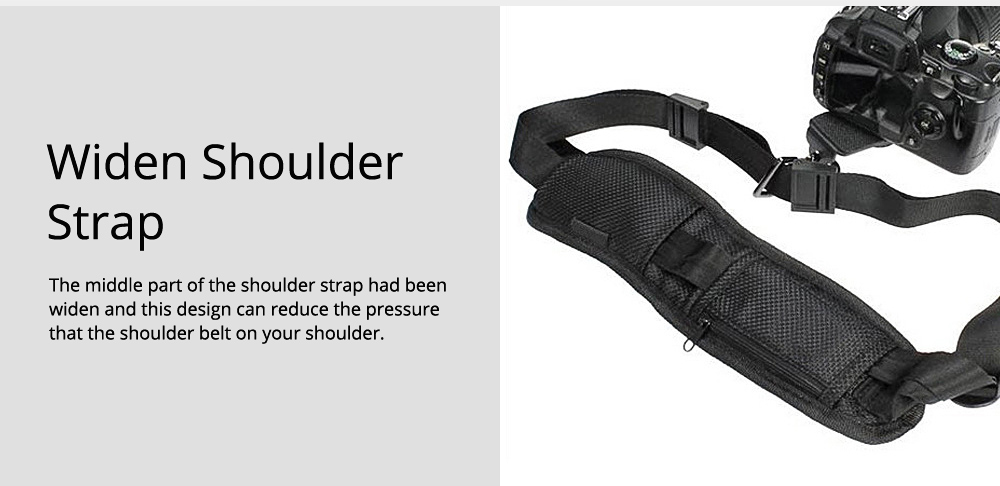 Minimalist Digital SLR Camera One Shoulder Strap, Professional Fix Single-lens Reflex Camera Shoulder Belt 5