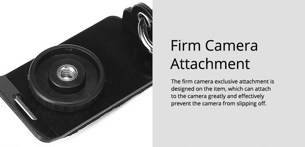 Professional Digital Camera Double Shoulder Straps, Comfortable Dual Shoulder Belt for SLR DSLR Camera Extreme Sports 6
