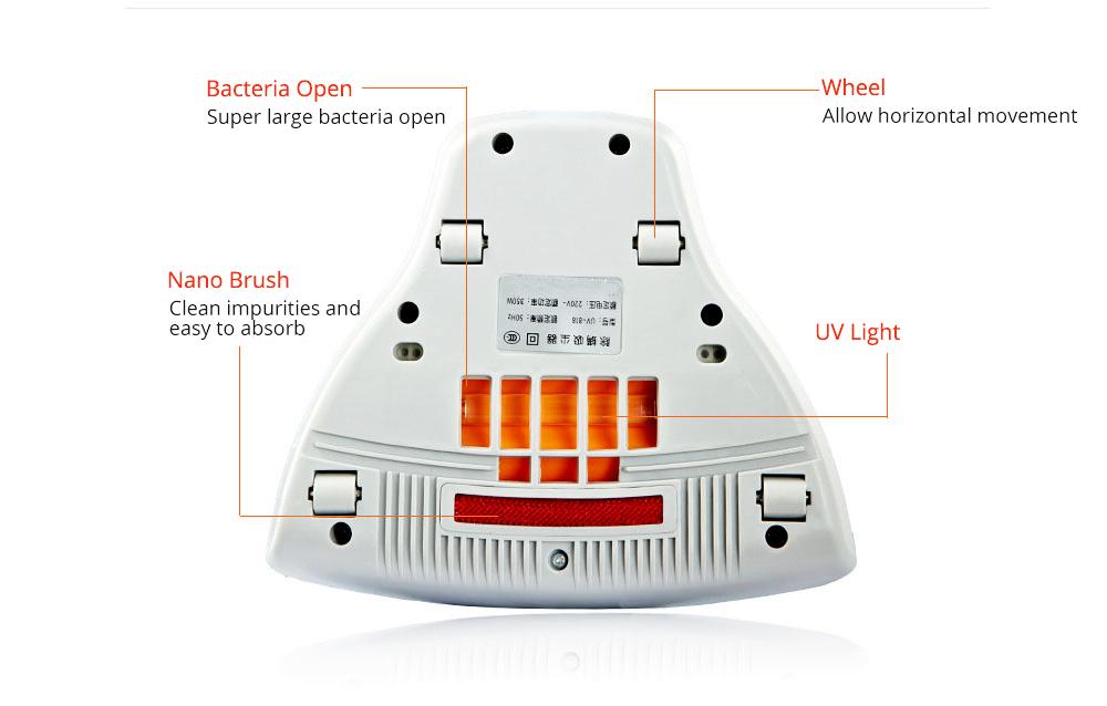 Bedding Use Acarus Killing Hand-held Silent Dust Mite Controller, Ultraviolet Sterilization Mite Predator Dust Catcher 7