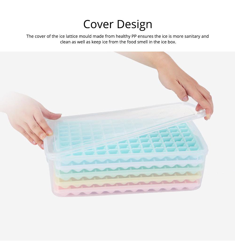 96 Grid Ice Lattice Mould with Cover, Sealed Crisper DIY Ice, Multiple Sub-box Ice Lattice Mold Ice-making Box 4