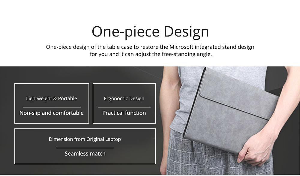 Laptop Case Pack for Microsoft Surface Pro 4, Surface Pro 3, Surface Pro 5, Surface Pro 6 Full Protective Pouch Case, Tablet PC Laptop Case 2