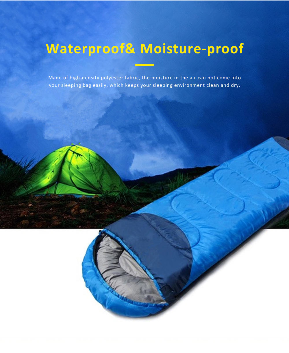 Portable Sleeping Sack Camping Equipment, Thicken Thermal High Quality Outdoor Bedding, One Kilogram Sleeping Bag for Adults 4