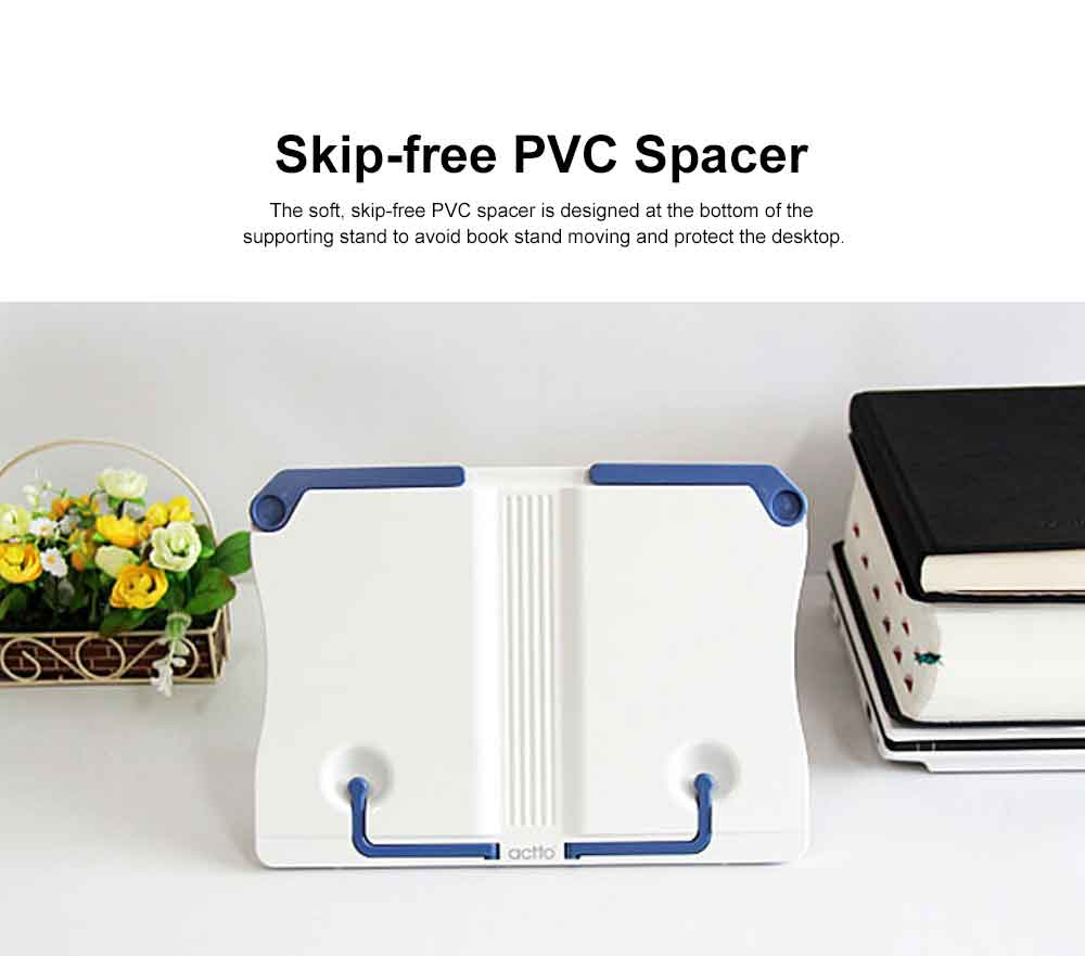 Small Size Portable Book Stand for Students Use, Reading Manuscript Frame Computer Operation, Ergonomic Designed Book Stand 1