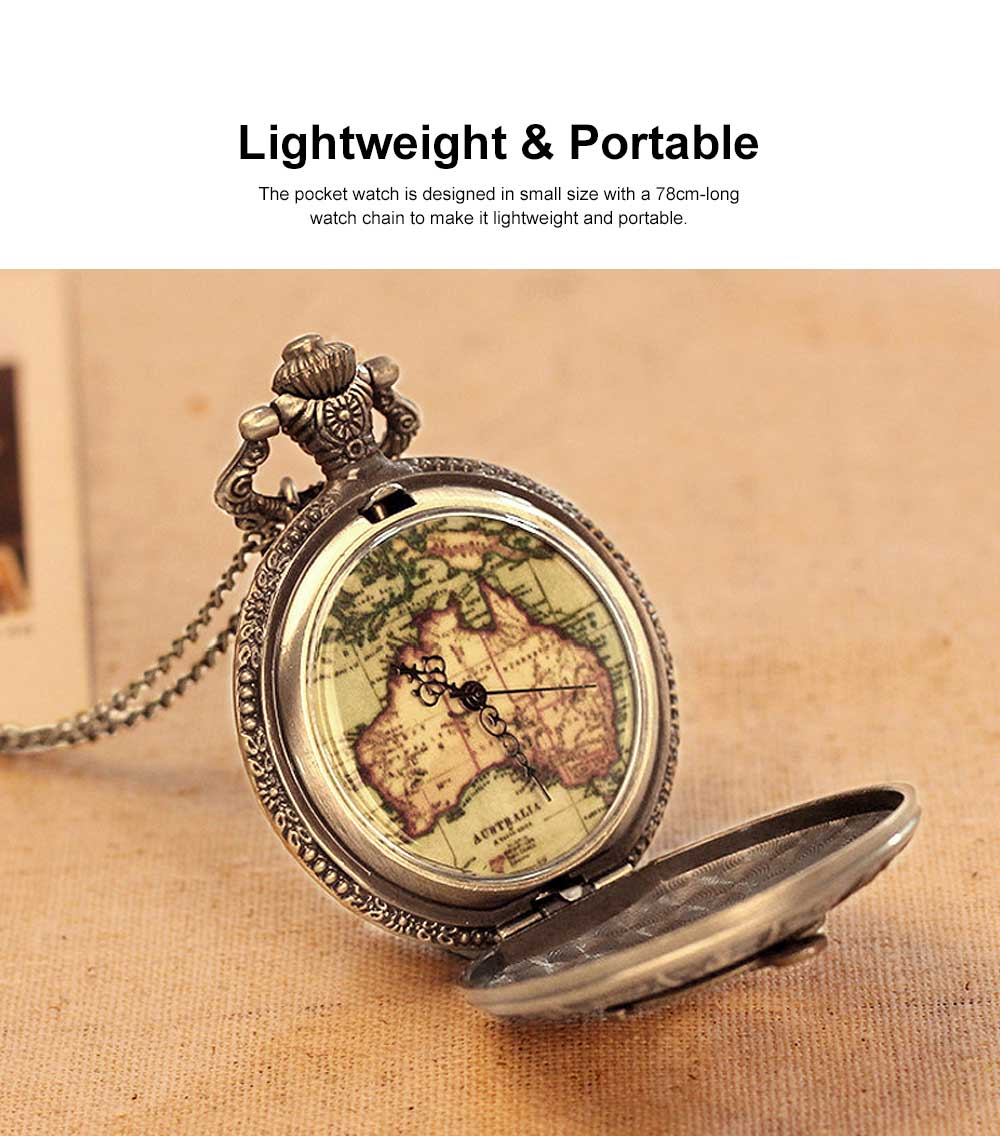 Large Size Pocket Compass with Twelve Constellation Pattern, Dial Plate Retro Style Compass, T-Pocketof Map Pattern Alloy Compass for Comping, Hiking 1