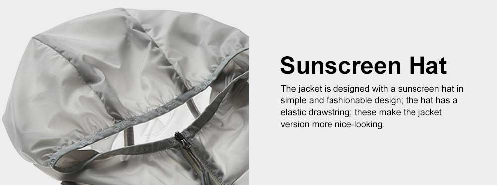 Couple Sunscreen Jacket for Lovers, Outdoor Sun Protective Skin Suit for Camping Running, Thin Quick Dry Clothing Top 6