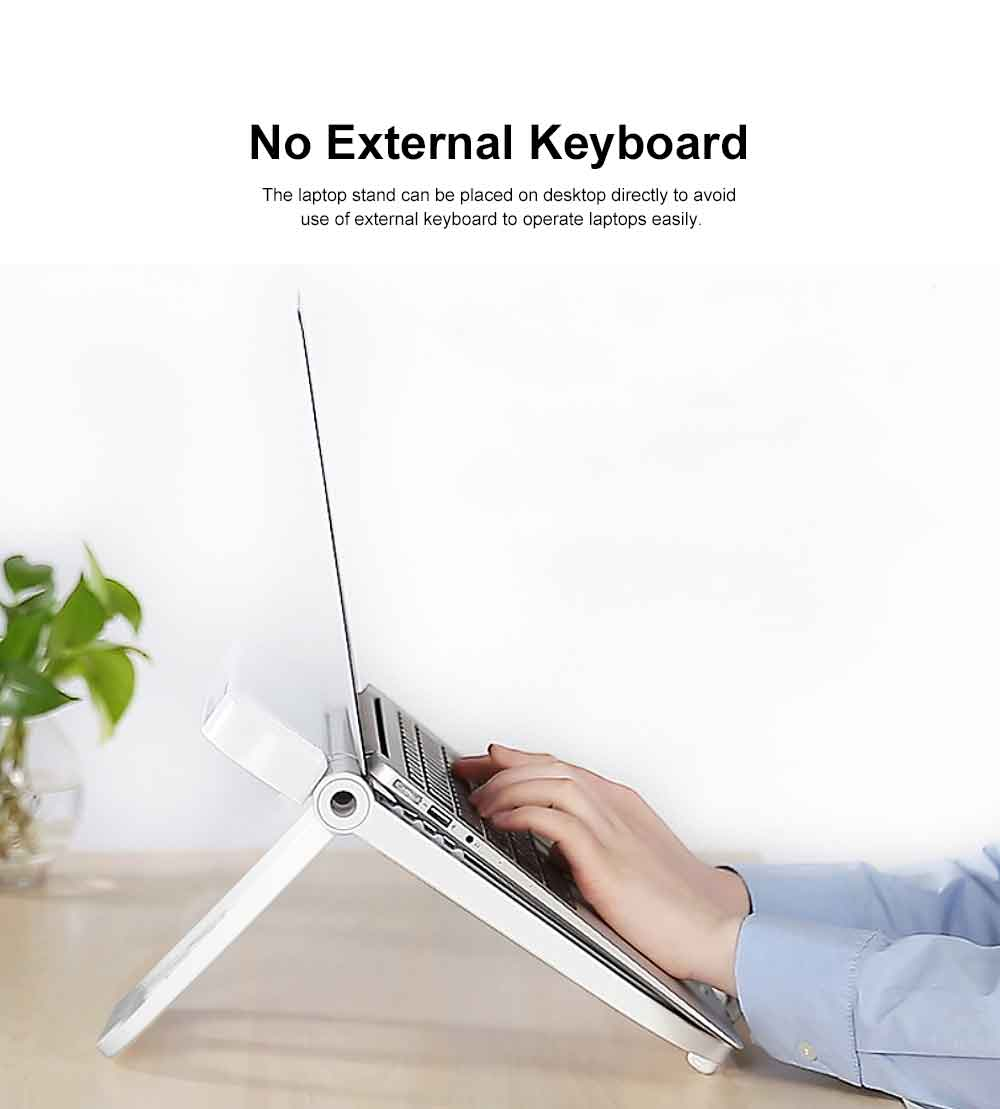 Adjustable Height Laptop Stand, Desk Neck Protective Notebook Computer Support for Lenovo Apple Notebooks, Heat Dissipated Base Computer Accessories 6