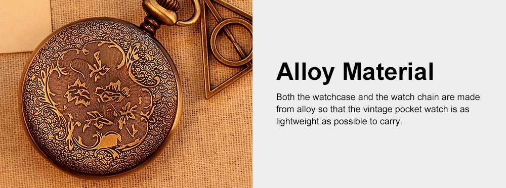 Retro Style Golden Dial Pocket Compass, Hollow-out Vintage Compass with the Deathly Hallows Pattern, Hiking, Camping, Outdoors Compass 5