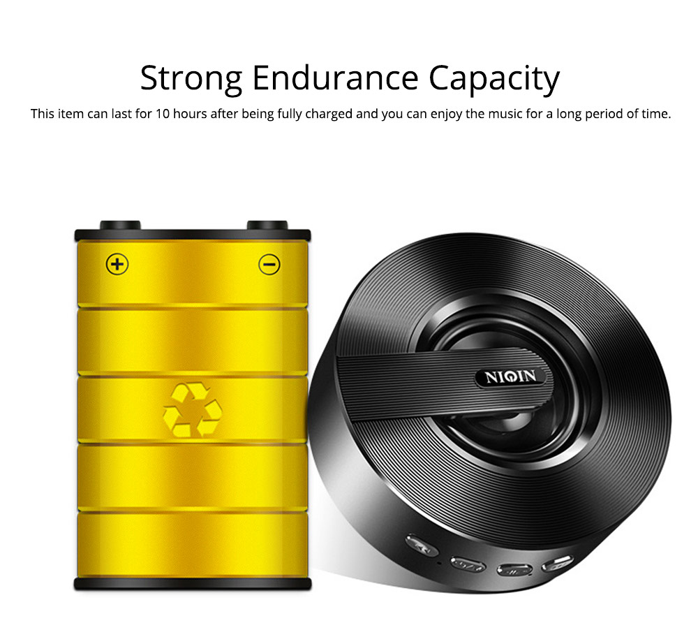 Mini Portable Sanded Plastic Speaker Sound Box, Delicate Mobile Phone Bluetooth Loudspeaker with Notify 7 Colors Light 6