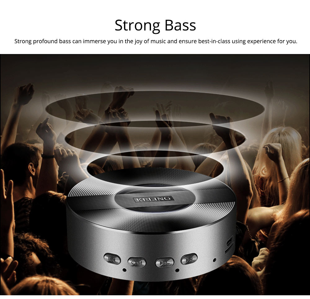 Mini Wireless Bluetooth Speaker, Delicate Subwoofer Card Sound Hands Free Calling Loudspeaker, Portable Phone Audio 9