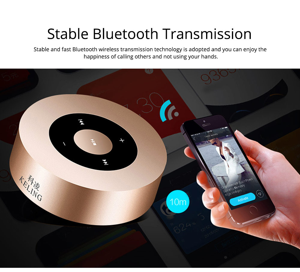 Delicate Small Mobile Phone Wireless Bluetooth Speaker, Mini Quality Breaking-proof Plastic Loudspeaker Sound Box 2