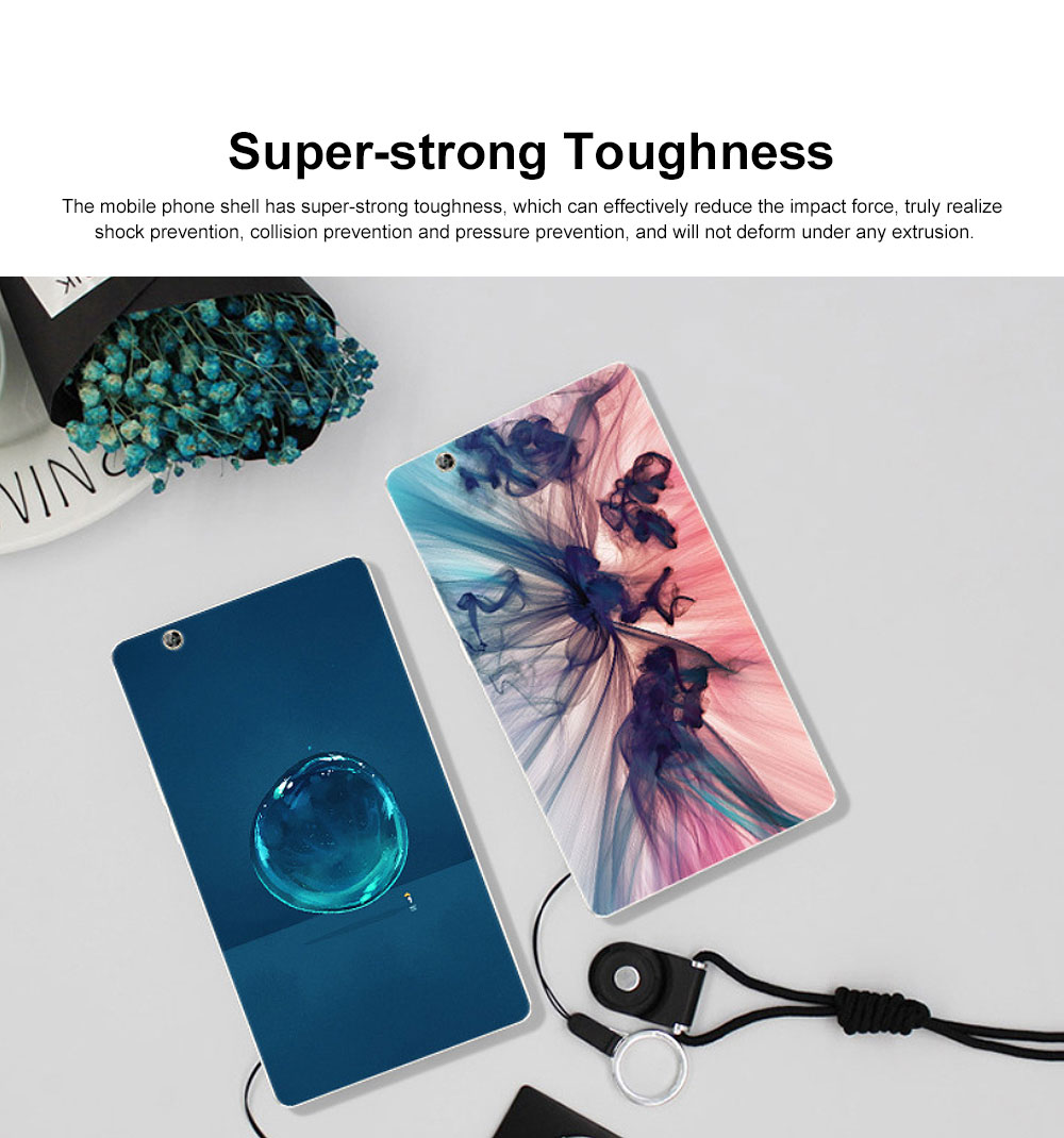 Huawei Tablet PC M3 Protective Case, TPU HD Painted Cartoon Tablet PC Protective Cover for HUAWEI m3 8.4 inch 4