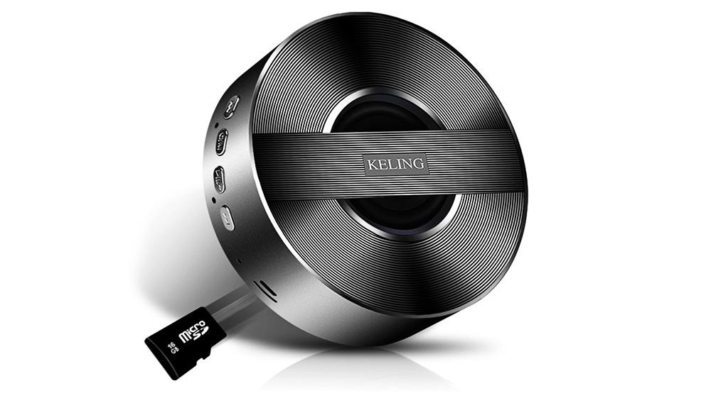 Mini Wireless Bluetooth Speaker, Delicate Subwoofer Card Sound Hands Free Calling Loudspeaker, Portable Phone Audio 6