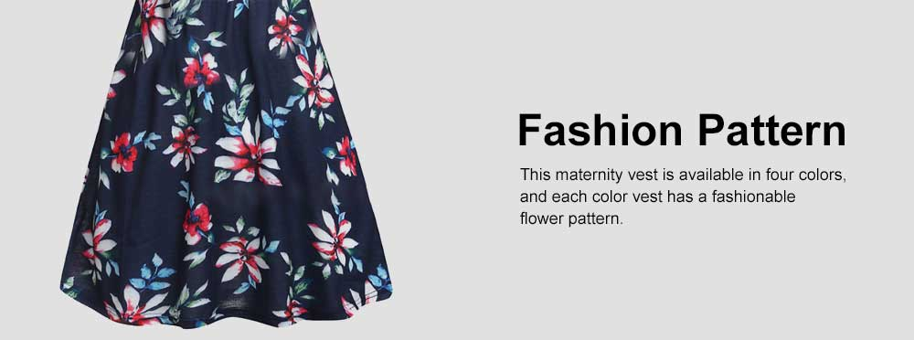 Pregnant Women Clothes, Fashion New Printing Women Vest, Cross Breastfeeding Maternity T-shirt 5