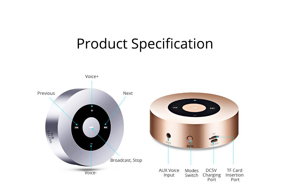 Delicate Small Mobile Phone Wireless Bluetooth Speaker, Mini Quality Breaking-proof Plastic Loudspeaker Sound Box 11