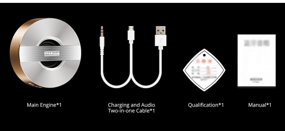 Mini Wireless Bluetooth Speaker, Delicate Subwoofer Card Sound Hands Free Calling Loudspeaker, Portable Phone Audio 12
