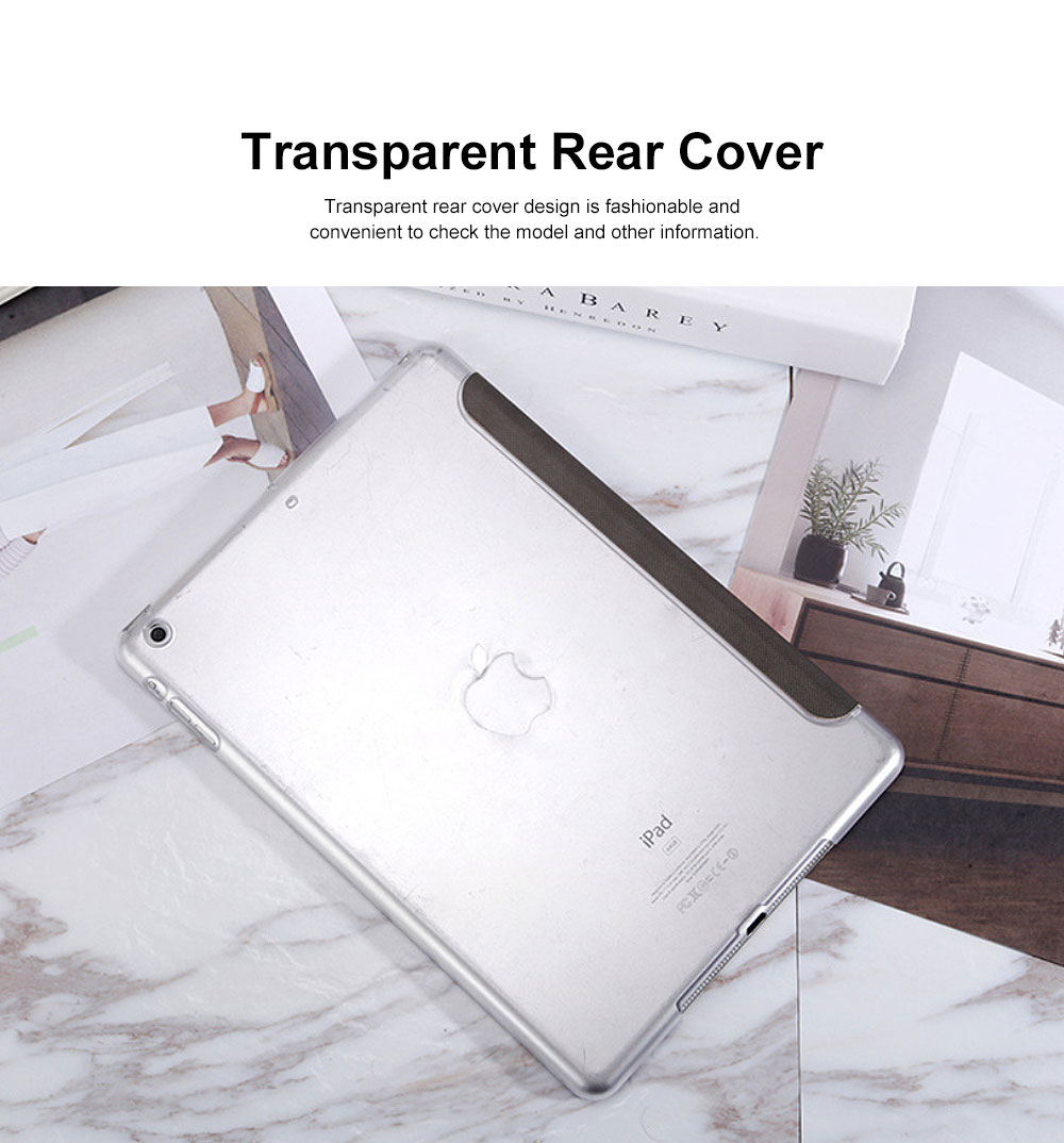 All-round Protection Protective Case, Intelligent Dormancy Protective Cover for iPad Mini 1 2 4 5, Air 1 2, 2017 2018 New iPad 2