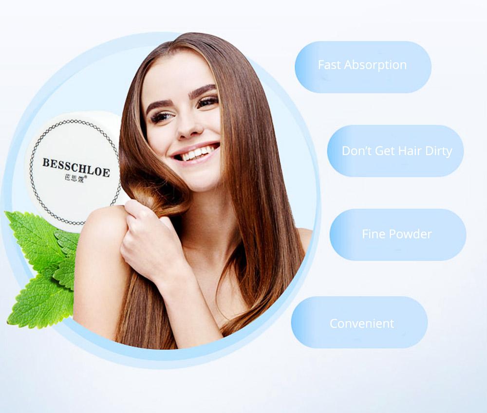 Travel Portable Hair Fluffy Powder, Dust Thin Hair Non-wash Fluffy Building Powder, Dry Clean Volumizing Mattifying Deoiling Fine Powder 5