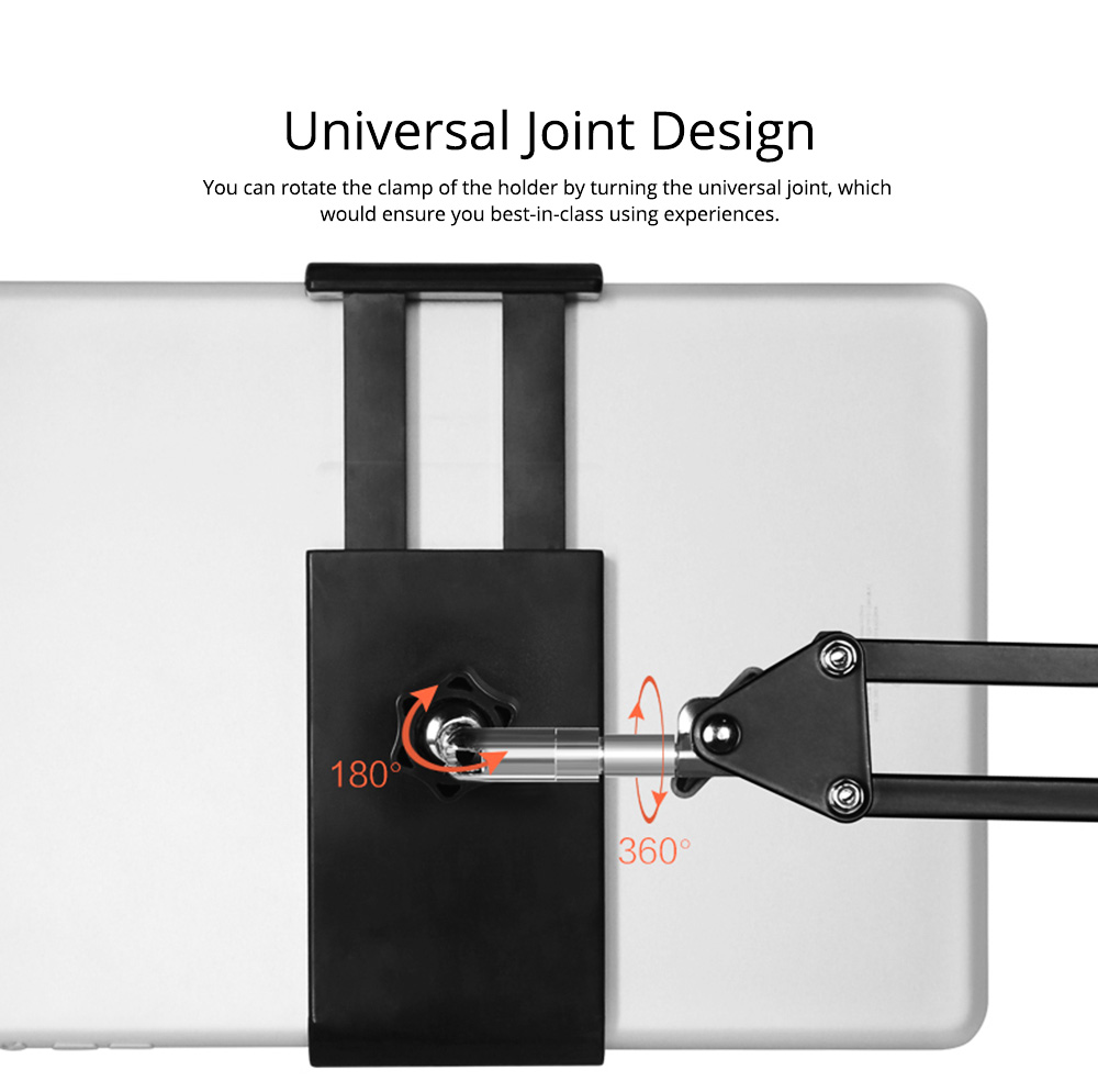 Creative Foldable Mobile Phone Cantilever Type Supporter, Quality Carbon Steel ABS Table Tablet Holder for 3.5 to 11 inch iphone ipad Samsung Tab 3