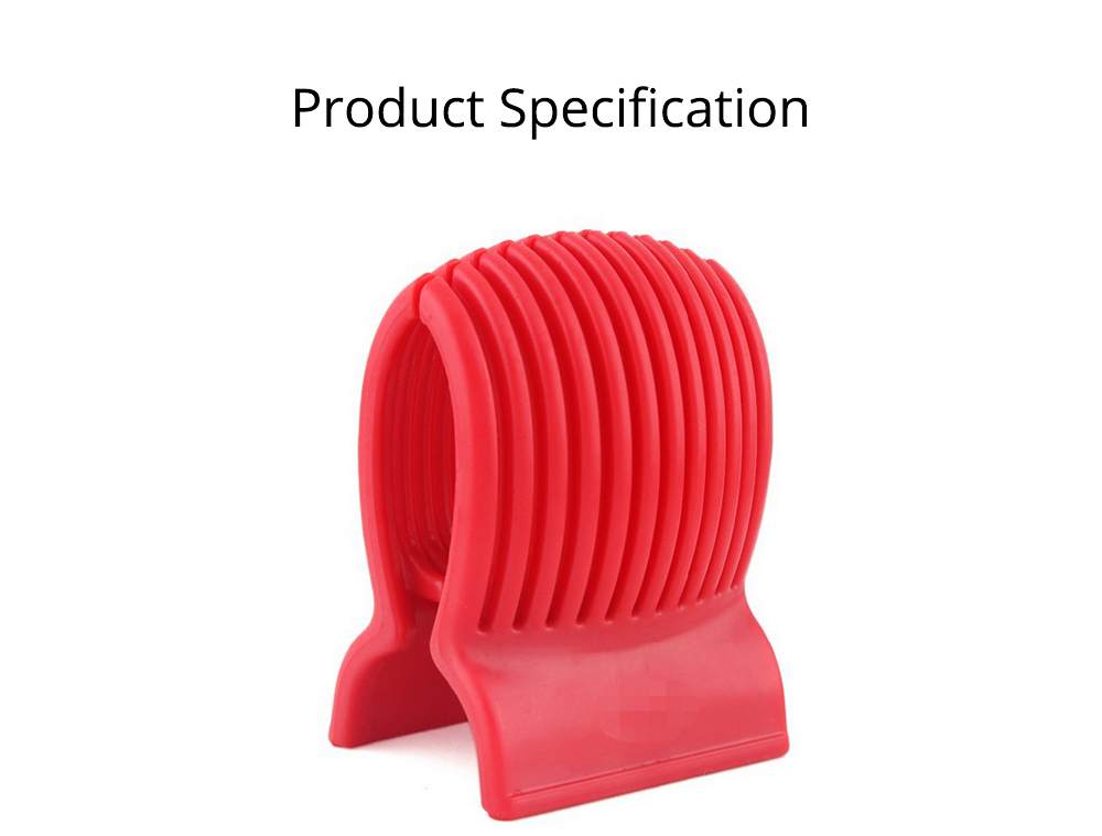 Tomato Lemon Fruits Vegetable Slicer Clip, Handy Kitchen Cooking Onion Plastic Holder Slicing Tools 6