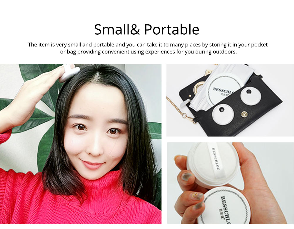 Travel Portable Hair Fluffy Powder, Dust Thin Hair Non-wash Fluffy Building Powder, Dry Clean Volumizing Mattifying Deoiling Fine Powder 8
