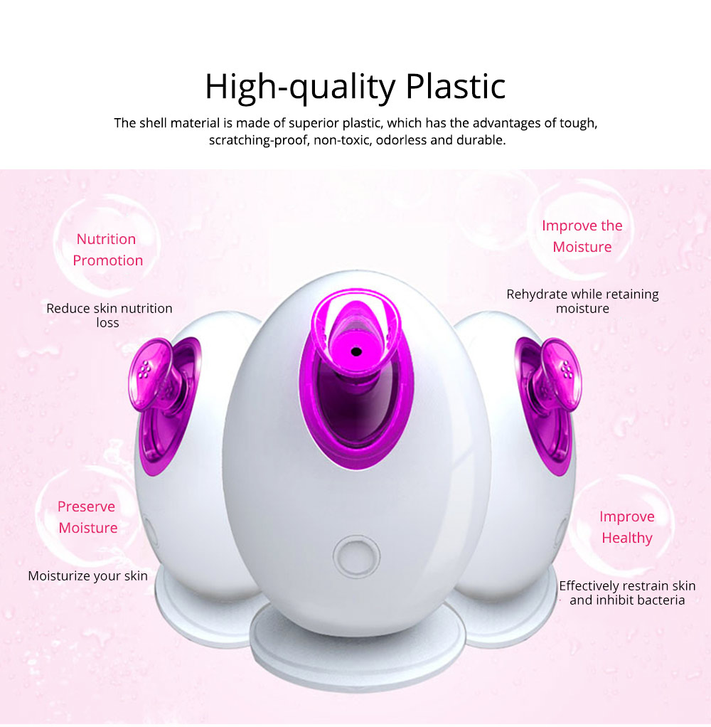 Ion Spa Facial Moisturizing Steamer Deep Cleaner, Smooth Face Skin Care Beauty Vapour Machine 1