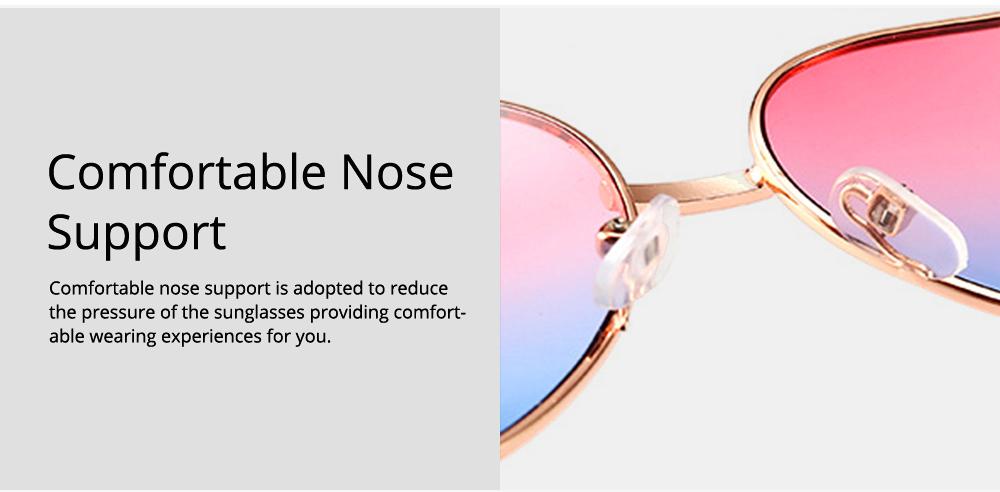 Minimalist Stylish Heart Shape Frame Unisex Sunglasses, Sun UV Protection Outdoors Decoration Dress Up Sunglasses for Ladies 2