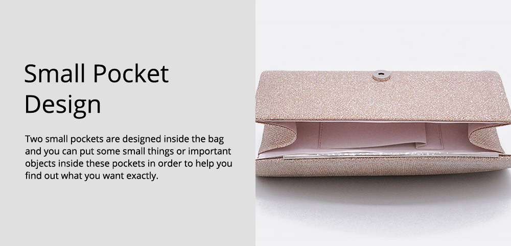 Delicate Fancy Shinny Synthetic Leather Women Shoulder Bag, Fashion Elegant Lady Evening Hand Bag for Party Wedding 4