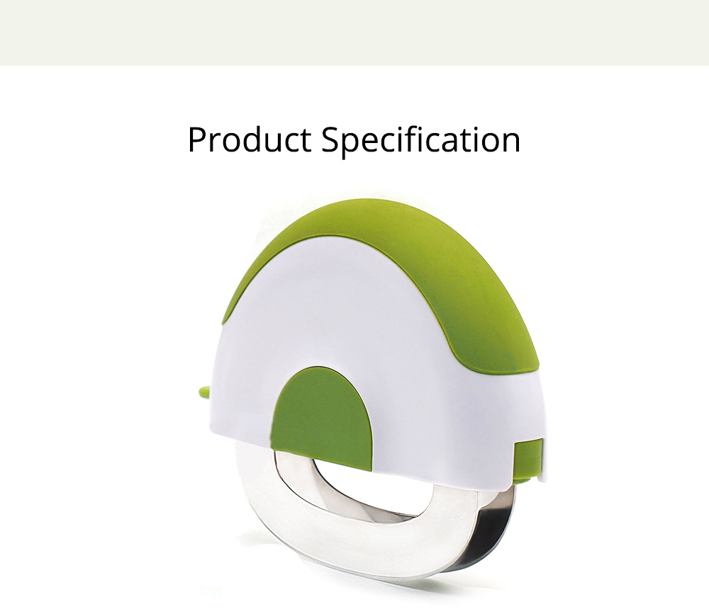 Creative Stainless Steel Vegetable Fruit Salad Double Blades Slicer, Safe Rotate Quick Ktichen Cutter Chopper with Lock 6