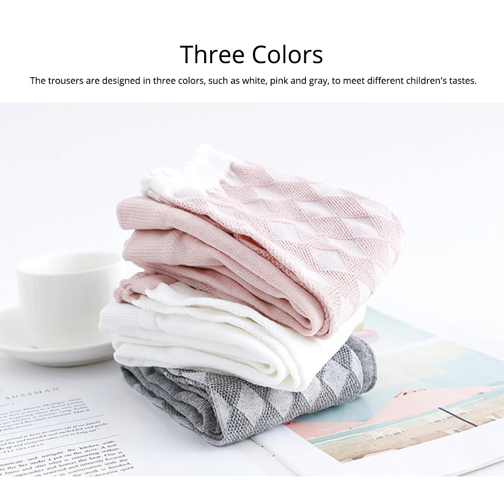 Pantyhose Cotton Material Breathable Leggings, Washable Ultra-thin Pants Socks for Kids, Durable Trousers Summer Spring 5