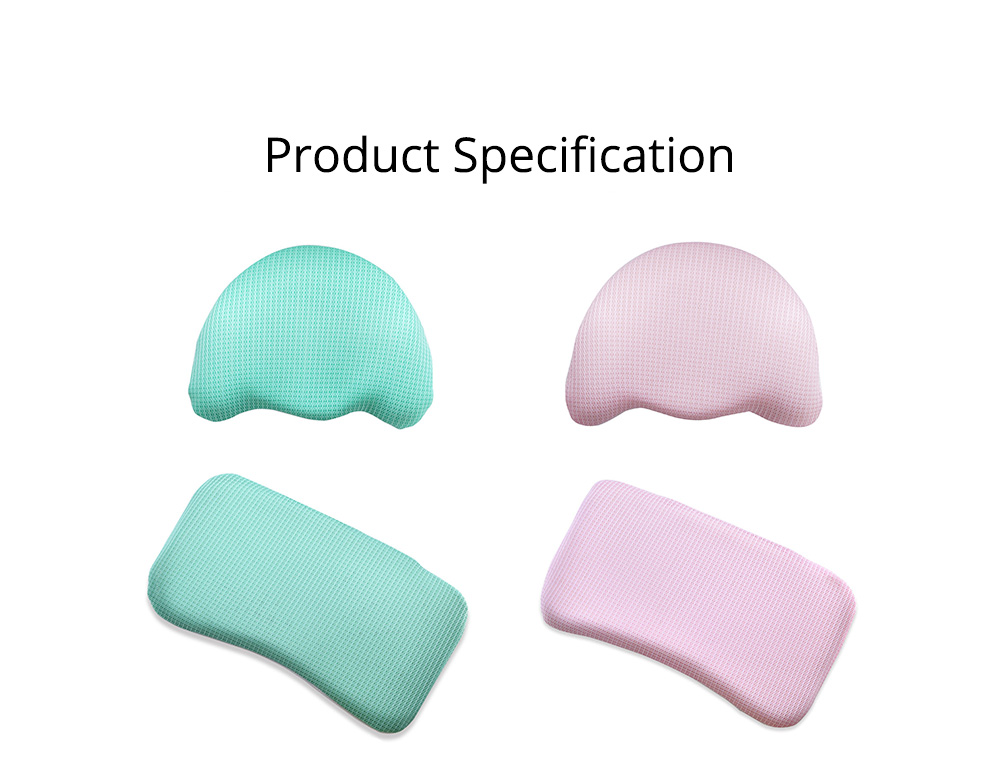 Summer Comfortable Infant Tencel Memory Cotton Pillow, New Born Baby Anti-roll Prevent Flat Head Cushion Pillow 11