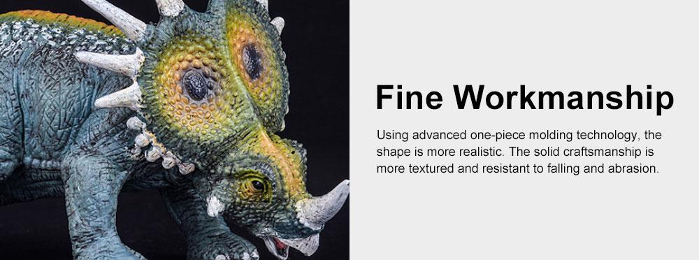 Simulation Halberd Dinosaur Toys, Solid No Stitching PVC Dinosaur Model, Educational Realistic Dinosaur Figures 5
