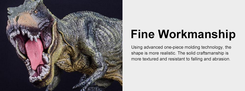 Simulation Dinosaur Toy Solid, No Stitching PVC Dinosaur Model, Educational Realistic Dinosaur Figure Tyrannosaurus Rex 5