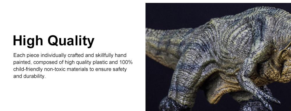 Simulation Dinosaur Toy Solid, No Stitching PVC Dinosaur Model, Educational Realistic Dinosaur Figure Tyrannosaurus Rex 4